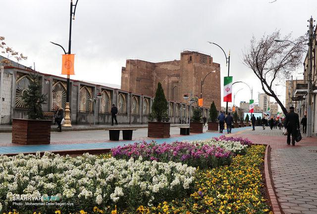پیادهراههای تبریز گذرگاه فرهنگ و هنر میشود