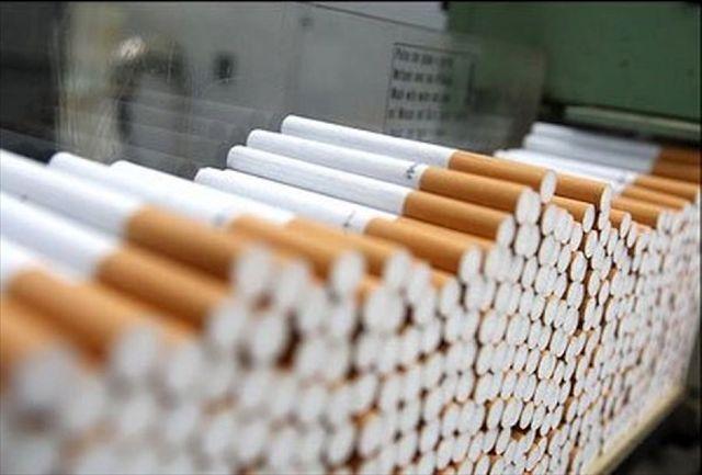 کشف وضبط بیش از هزار نخ سیگار قاچاق
