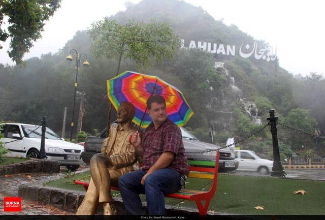 باراش باران و کاهش نسبی دمای هوا از امروز در گیلان
