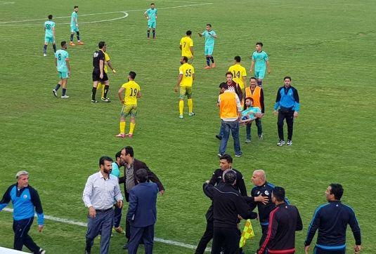 شهرداری ماهشهر با مهابادی، نود را در ارومیه متوقف کرد