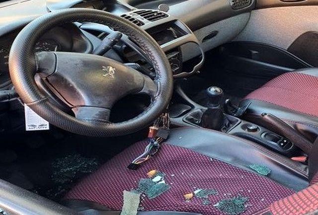 سرقت چندین باره در بزرگراه مدرس در غیاب پلیس