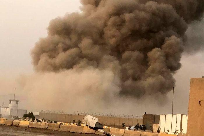 گرمای شدید هوا باعث وقوع انفجار در پایگاه الصقر شد