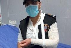 ضرب و شتم نیروی اورژانس ۱۱۵ یاسوج توسط یک مرد و زن