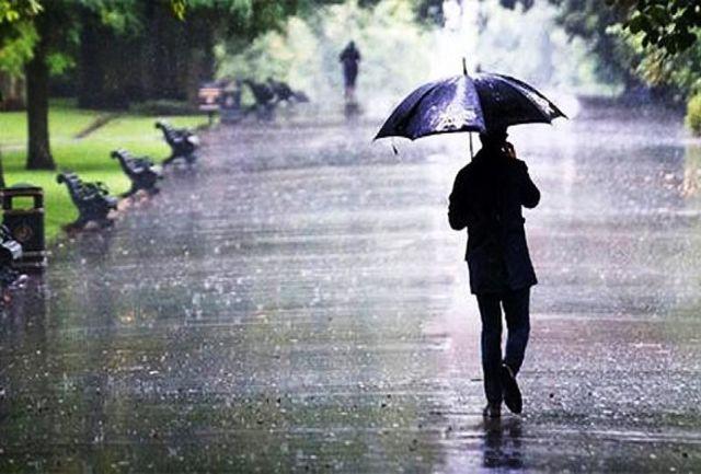 اولین بارش باران پاییزی در ایلام