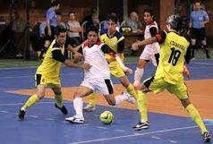 پیروزی فرش آرا مقابل شهرداری ساوه در لیگ برتر فوتسال