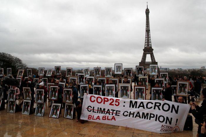 اعتراض فعالان محیط زیست به سیاستهای مکرون
