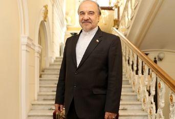 ضیافت سفارت ایران در روسیه برای هنرمندان با حضور وزیر ورزش و جوانان