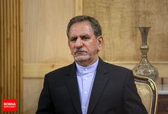 حضور جهانگیری در راهپیمایی اربعین حسینی