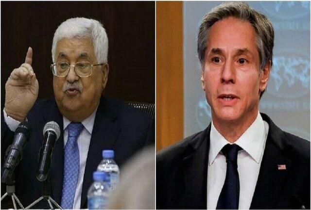 ملاقات رئیس تشکیلات خودگردان فلسطین با آنتونی بلینکن