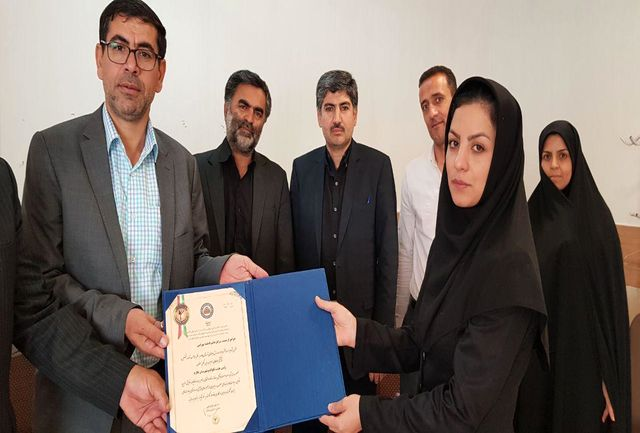 معارفه زهرا بهرامی به عنوان رئیس هیات تکواندو شهرستان طارم