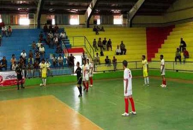 صعود نماینده ماکو به دور دوم لیگ دسته دوم فوتسال