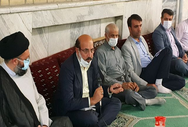 اهالی منطقه راه آهن مشکلات خود را با رئیس مجمع نمایندگان استان قزوین در میان گذاشتند
