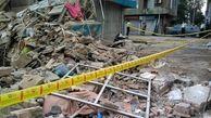 ریزش هولناک ساختمان متروکه در کرمانشاه/ یک نفر جان باخت