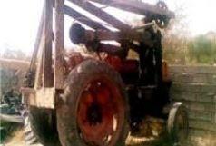توقیف یک دستگاه تراکتور حفاری در نایسر