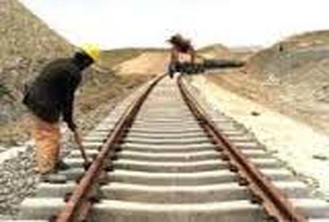 آغاز نصب و راه اندازی ریل عریض در امتداد ریل ترکمنستان در خاک ایران