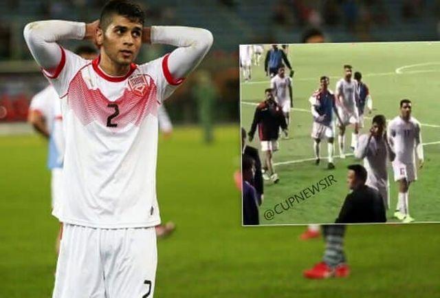 مدافع بحرین بخشیده شد!