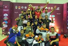 فرنگی کاران خوزستان صاحب مدال های رنگارنگ شدند