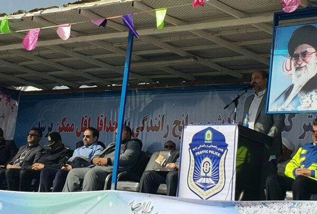 طرح ترافیکی پلیس راهور در قزوین آغاز شد