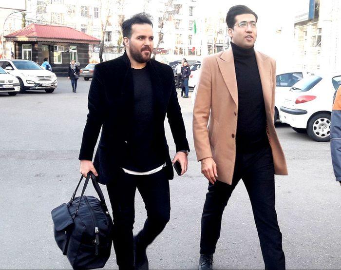 در حاشیه قبل از دیدار خیریه فوتسال ستارگان هنر ایران و هنرمندان گیلان