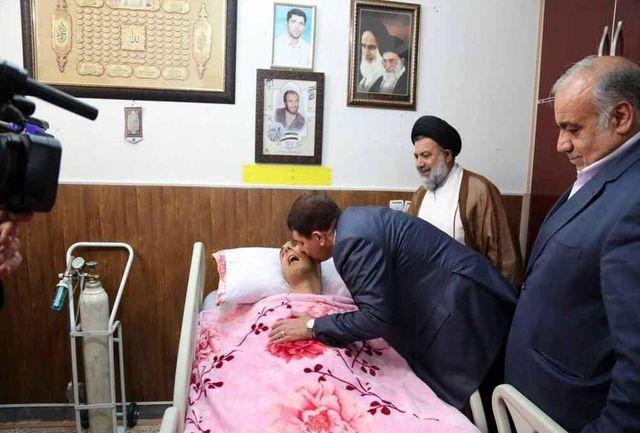 شهید سید نورخدا موسوی تجسم شهادت را سالها به ذره ذره جانش نوشانید
