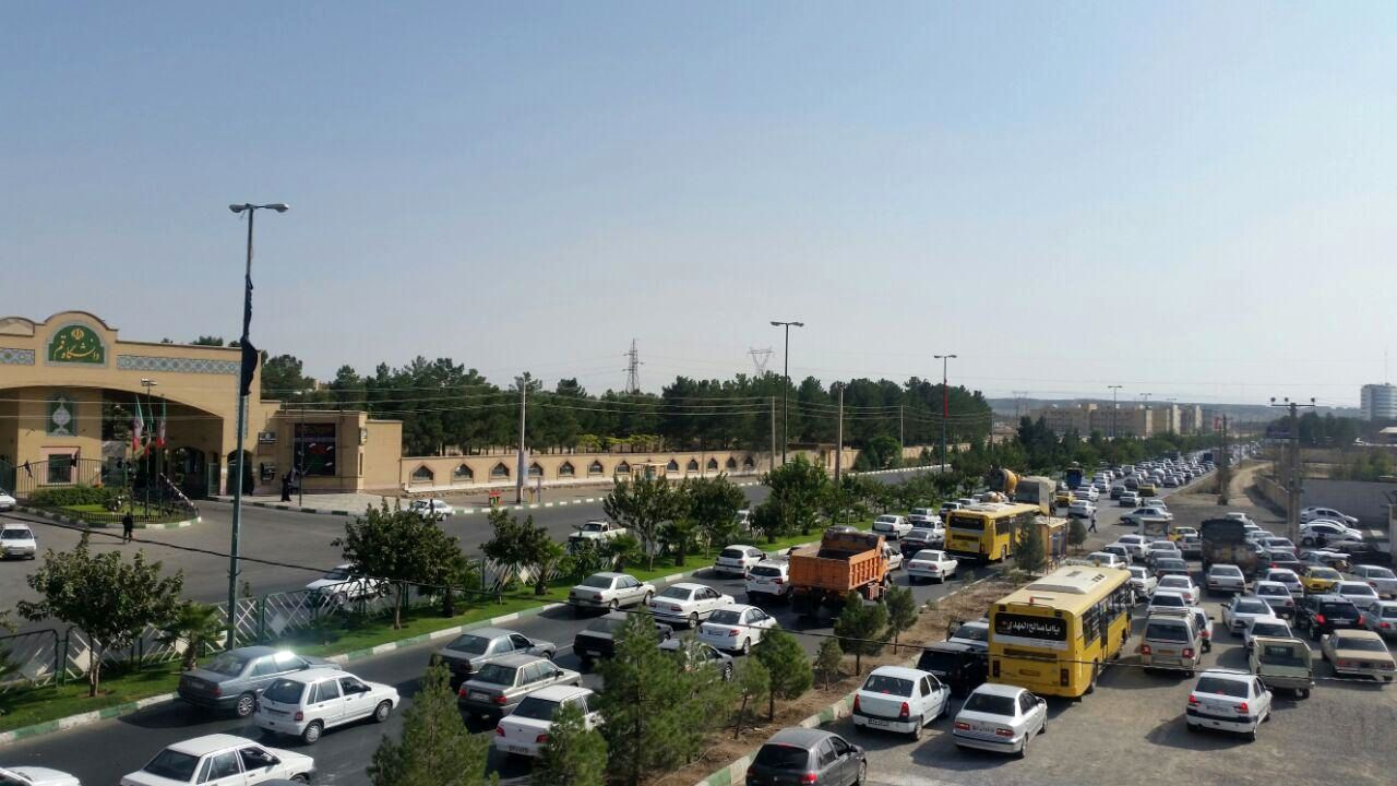 Image result for ترافیک پردیسان قم