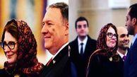 زن مرموزی که بدون سِمت در تمام امور وزارت خارجه آمریکا نفوذ دارد/ «سوزان» سایه همراه پمپئو را بیشتر بشناسید