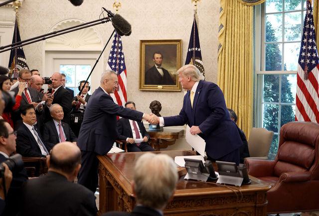 آمریکا به «توافق تجاری فاز ۱» با چین دست یافت