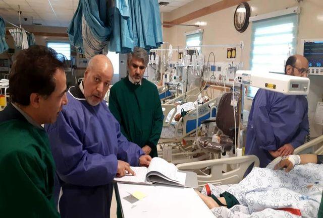 عیادت استاندار اصفهان از دادستان چهارمحال بختیاری