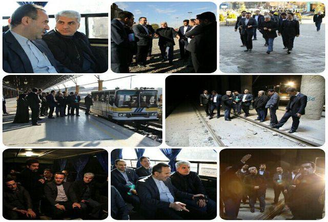 قطار ساماندهی در لب خط تهران-تبریز سرعت گرفت