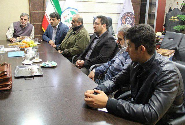 مدیر کل ورزش و جوانان البرز با جوهری دیدار کرد