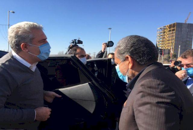 وزیر میراث فرهنگی وارد قزوین شد