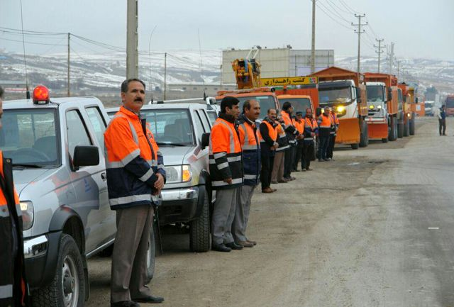 آمادگی راهداران خراسان شمالی برای خدمات رسانی به مسافران در طرح زمستانه