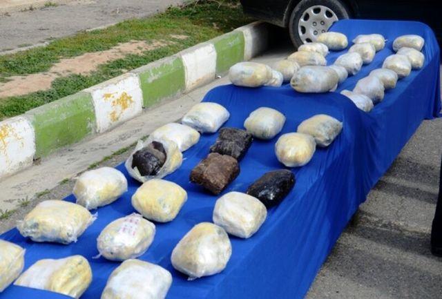 بیشاز ۲.۵ تن موادمخدر در سیستان و بلوچستان کشف شد