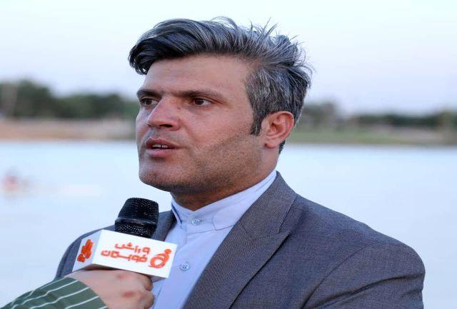 مسابقات قایقرانی استعداد های برتر خوزستان برگزار شد+ببینید
