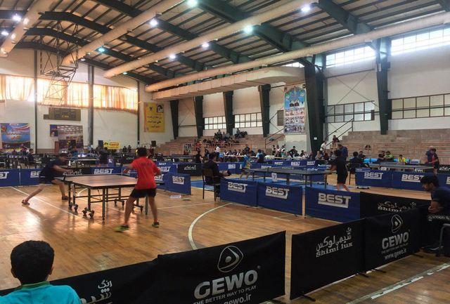 قائمشهر میزبان رقابتهای تنیس روی میز قهرمانی کشور