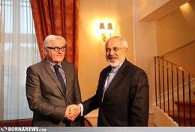 ظریف به اشتاین مایر تبریک گفت