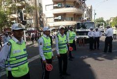 احترام ویژه پلیس راهور تهران به ناصر ملک مطیعی / ببینید