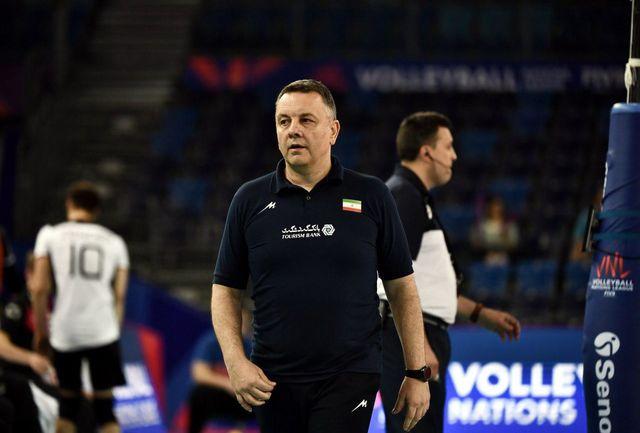 کولاکوویچ: از حالا تمرکز ایران روی انتخابی المپیک است