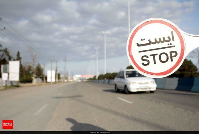 خودروهای غیربومی در بوشهر براساس رنگ بندی کرونایی اعمال قانون میشوند