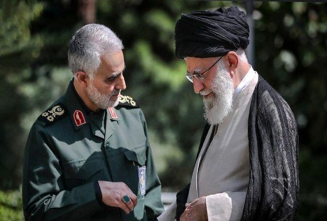 ماجرای گزارشی که شبانه سردار سلیمانی به رهبر انقلاب داد