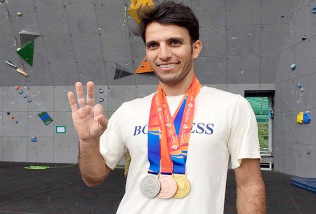 افتخار آفرینی آتش نشان قزوینی در مسابقات جهانی
