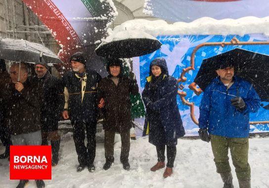 حضور جامعه ورزش گیلان در راهپیمایی 22 بهمن