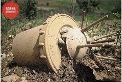مجروحیت کولبر کرمانشاهی بر اثر انفجار «مین»