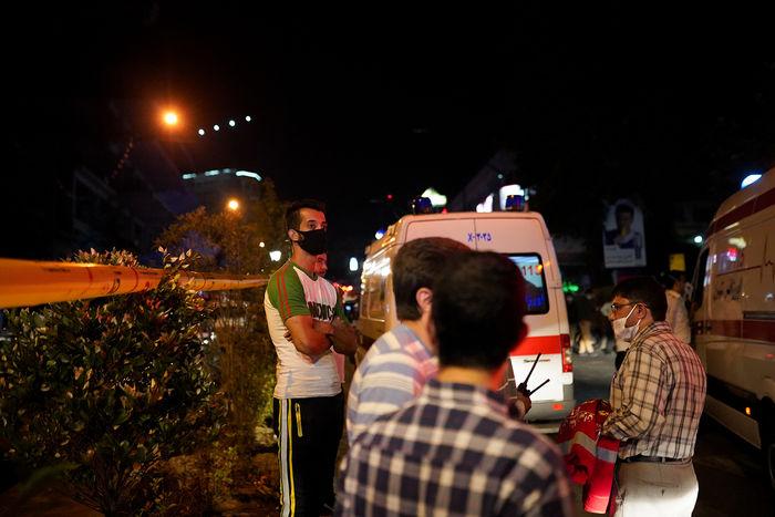 اعلام اسامی مصدومان حادثه انفجار کلینیک سینا