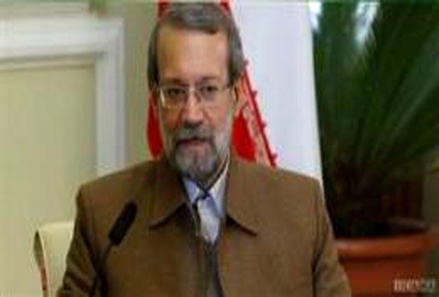 رییس مجلس بر نقش اتحادیه اروپا در توسعه مراودات سیاسی _ اقتصادی ایران و اروپا تاکید کرد
