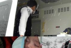 دختر کلیبری در رند ترین ساعت تاریخ به دنیا آمد