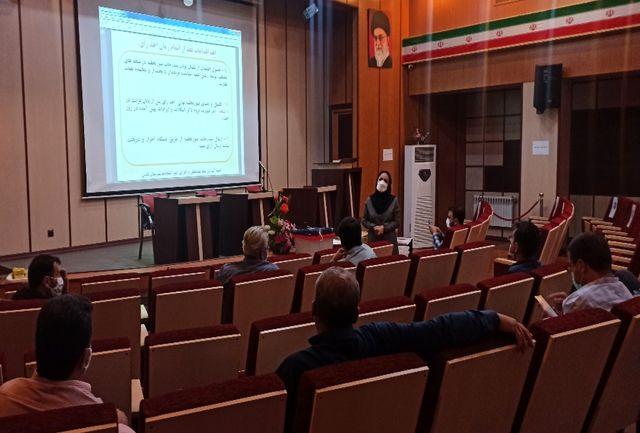 برگزاری جلسه آموزشی ستاد هماهنگی و امور اجرایی انتخابات ۱۴۰۰ در شهرستان قدس