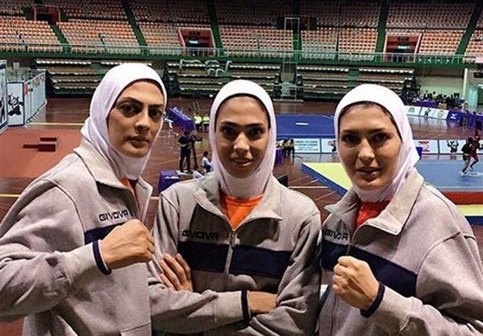 حریفان خواهران منصوریان مشخص شدند