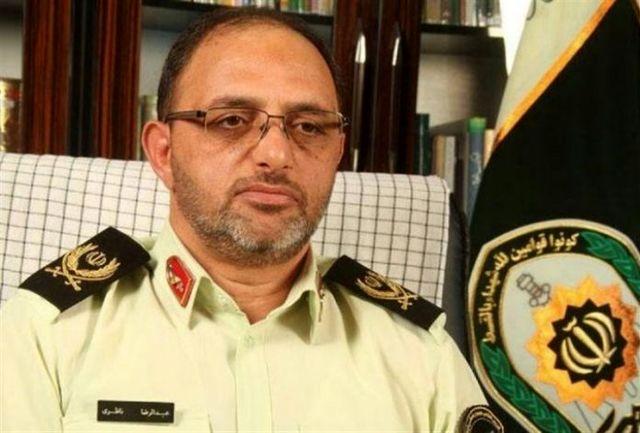 آمادگی کامل نیروی انتظامی برای برقراری امنیت انتخابات در استان کرمان