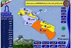 آخرین و جدیدترین آمارکرونایی استان ایلام تا۸ اسفند ۹۹